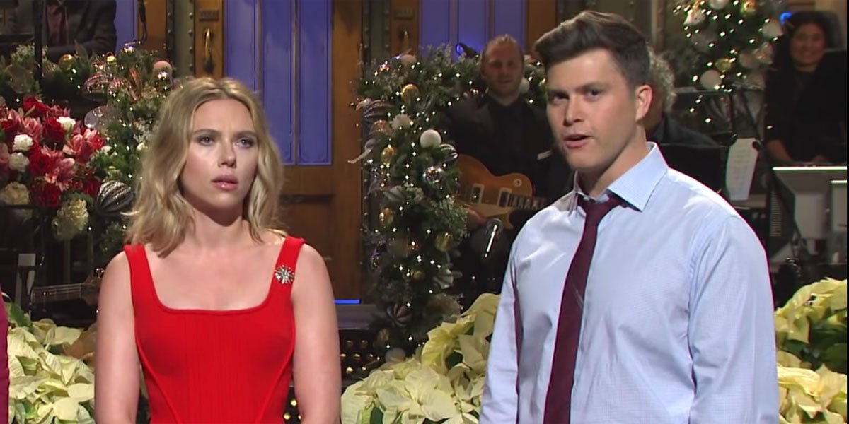 Looks Like Scarlett Johansson And Colin Jost Had An SNL Alum Officiate Their Wedding