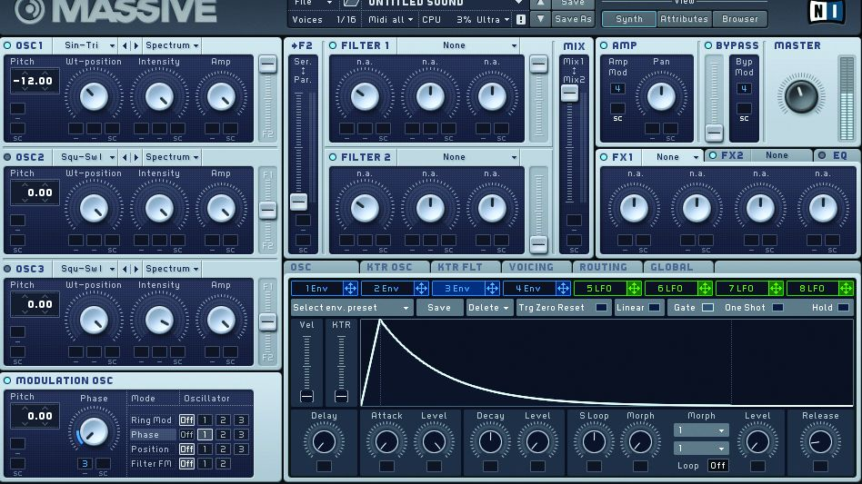 How to design Dirtybird-style bass with Native Instruments Massive
