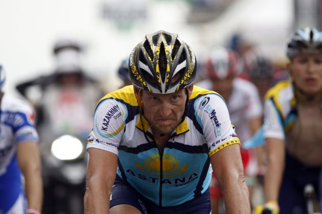 Armstrong remains adamant that he rode his comeback Tours clean. (Sunada).