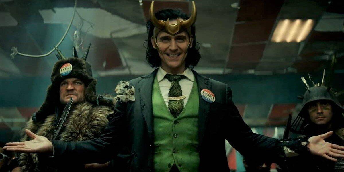Loki looking pretty proud of himself Disney+