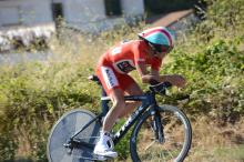 Vuelta leader Chris Horner (RadioShack Leopard) finished 20th in the stage 11 time trial and dropped to 4th on general classification