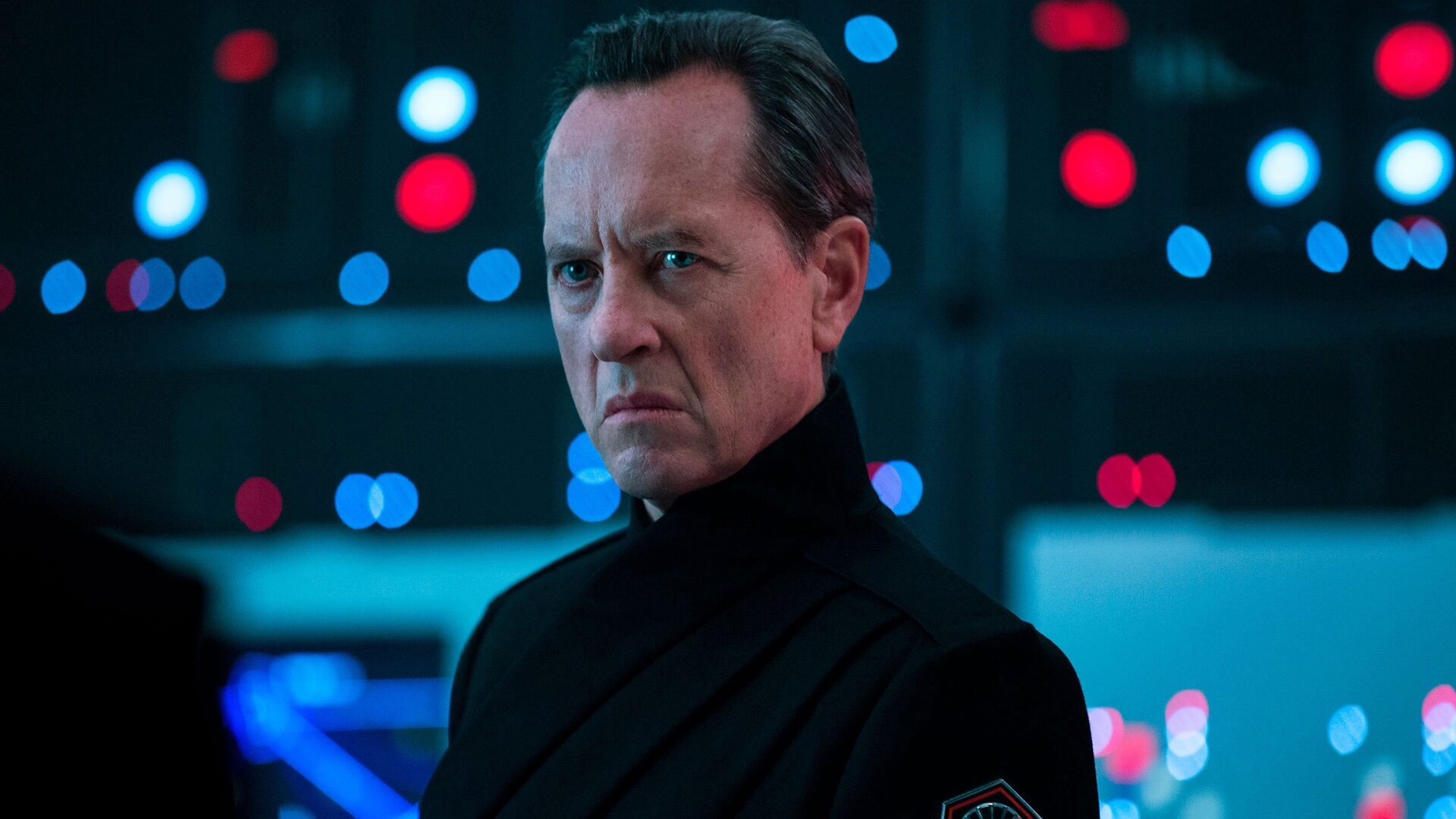 Richard E. Grant as Allegiant General Pryde in Star Wars: rise of skywalker