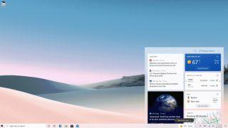 Windows 10 News and Weather Widget