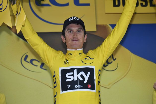 Team Sky rule out change of tactics after Geraint Thomas takes yellow at Tour  de France 0e00be500
