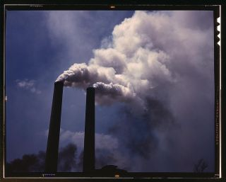 Pollution from smokestacks