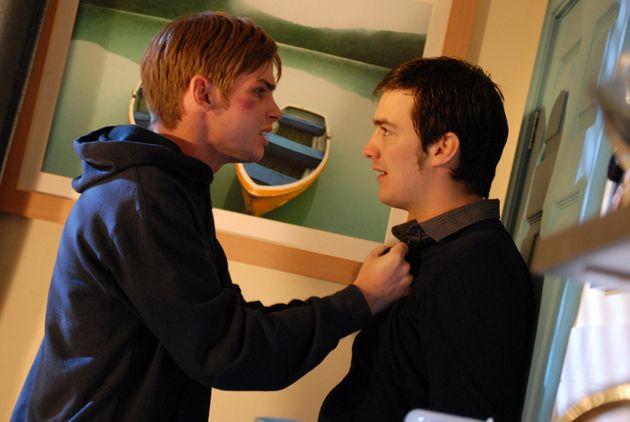 Daniel takes Lucas from Ste