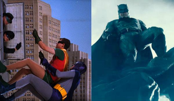 Adam West Batman Ben Affleck Batman