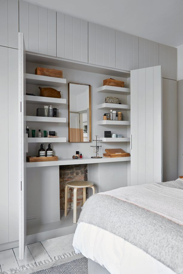 new arrival 92704 dd72b Bedroom Storage Ideas And Stylish Built-In Fitted Wardrobe Ideas