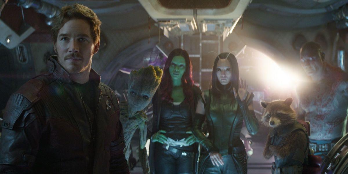Guardians of the Galaxy MCU team