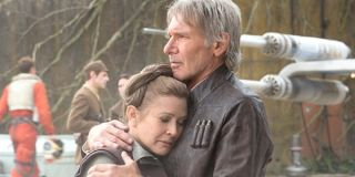 Star Wars: The Force Awakens Carrie Fisher as Leia Organa Harrison Ford as Han Solo