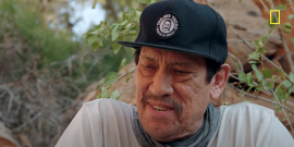 Fresh Off The Masked Singer, Watch Danny Trejo Chow Down On A Spider Because Bear Grylls