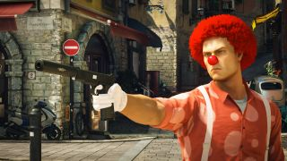 Agent 47 the clown