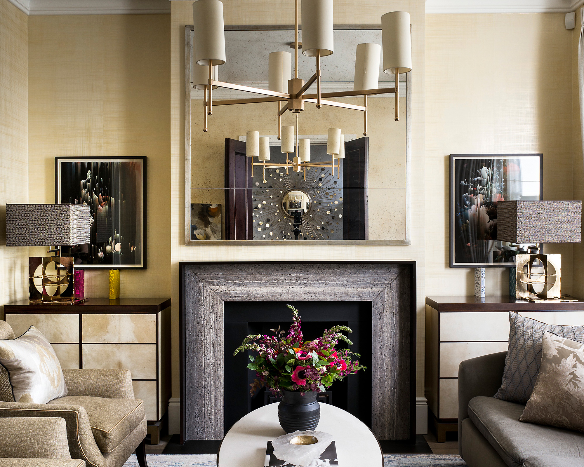 Small Living Room Lighting Ideas To Enhance A Compact Space Homes Gardens