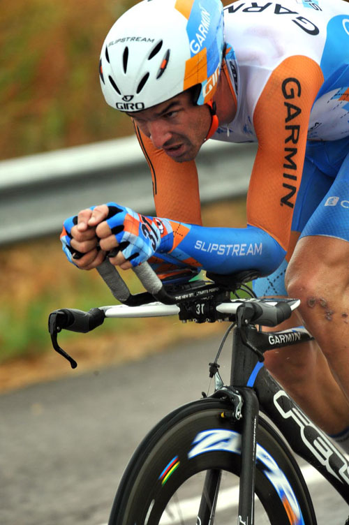 David Millar, Vuelta a Espana, stage seven ITT