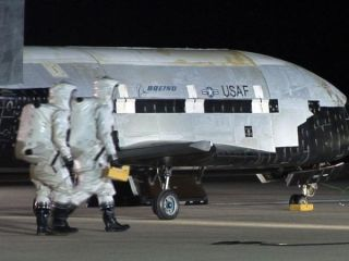 Air Force X-37B Robotic Space Plane