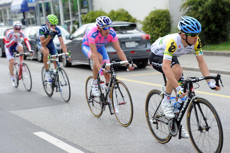 Jack Bobridge escape, Tour de Romandie 2011, stage one
