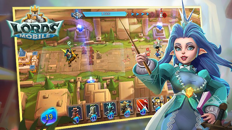 Here's what's coming in the brand new Lords Mobile Tower Defence update