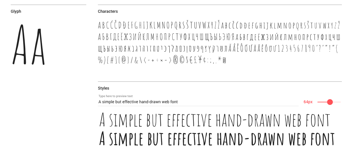 Best free fonts: Amatic