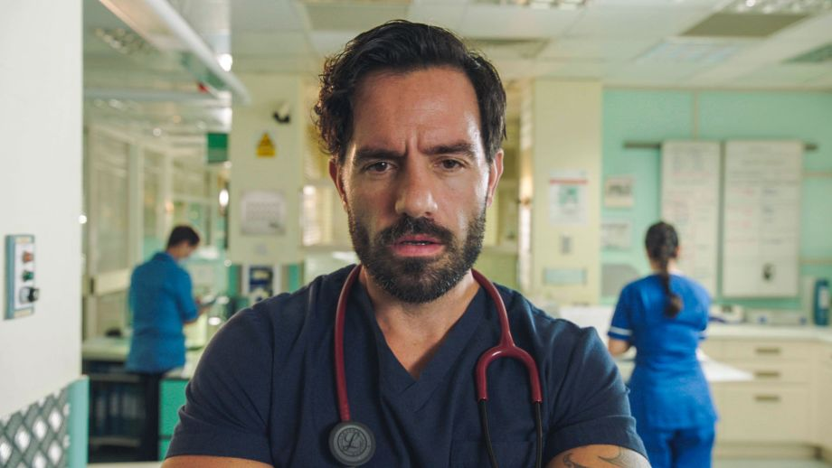 Ramin Karimloo plays Kian in Holby City