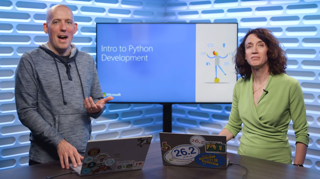 Microsoft launches a free 'Python for beginners' video course for aspiring coders | PC Gamer