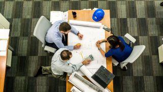 HR team working on payroll