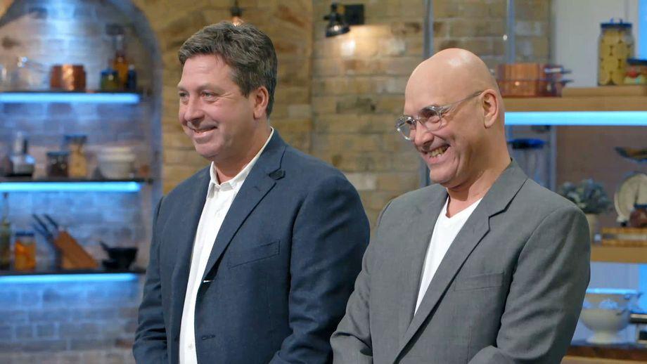John and Gregg smiling