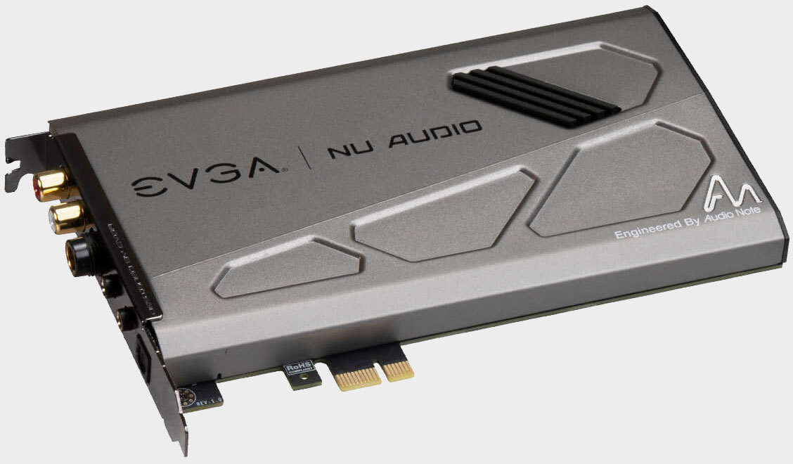 EVGA built a sound card for 'lifelike gaming' audio