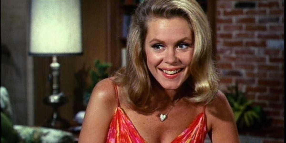 Samantha Stephens in Bewitched.
