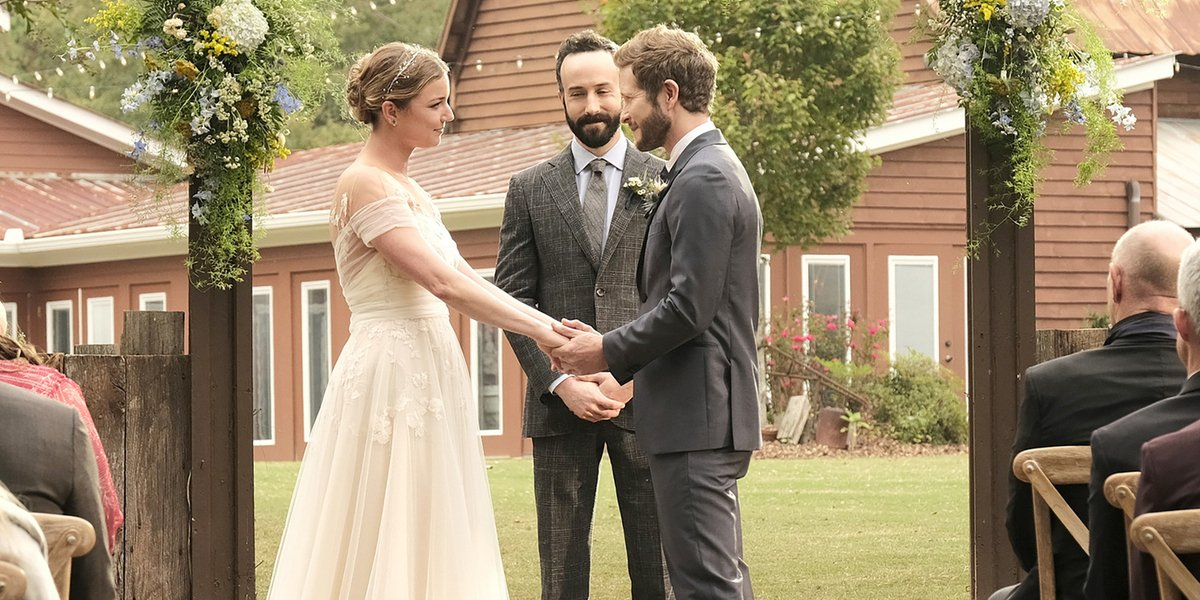 the resident season 4 premiere conrad nic wedding fox