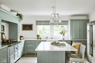 a painted kitchen idea from neptune
