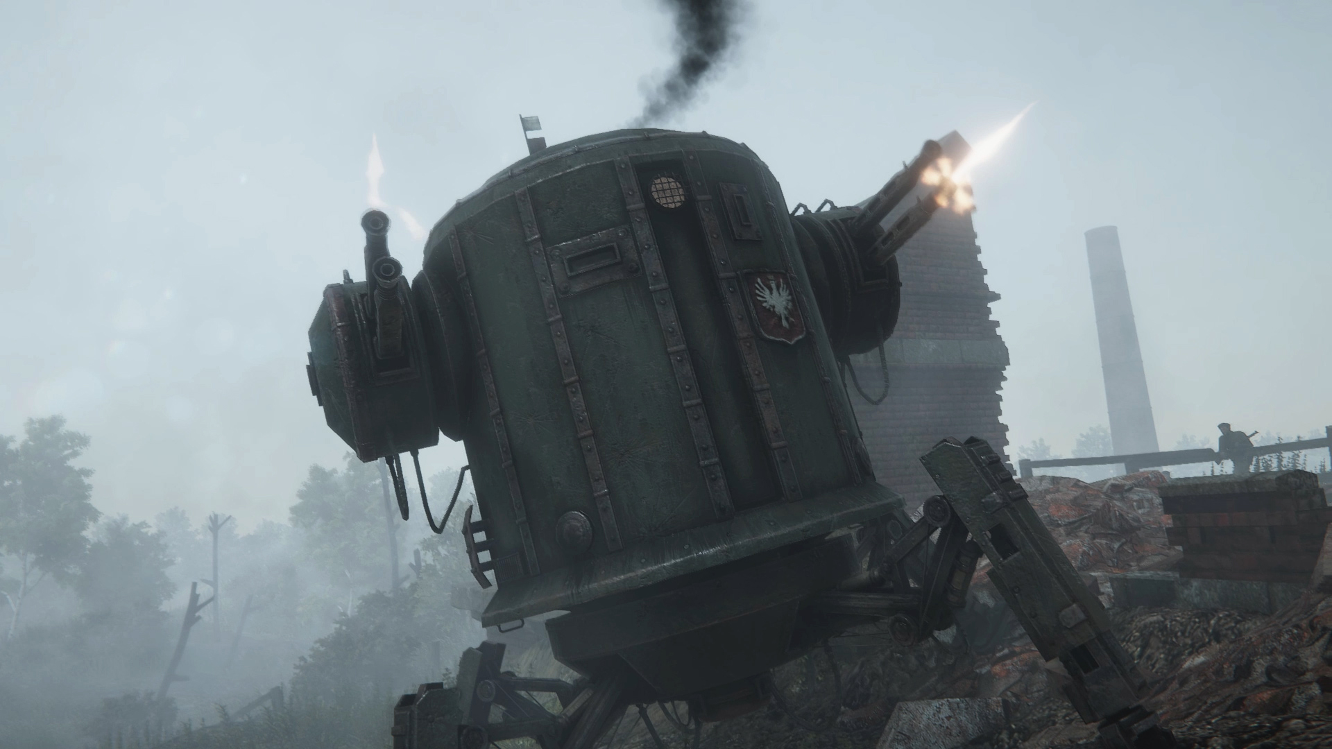 Fight mechs and bears in Iron Harvest's open beta