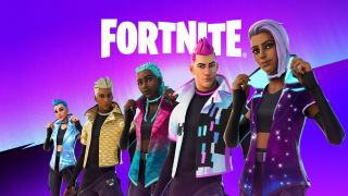 A line-up of Fortnite characters from the latest season