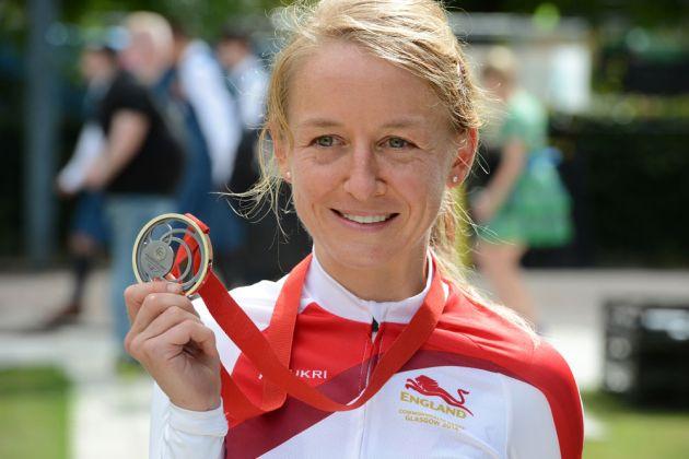 Emma Pooley CWG silver medal
