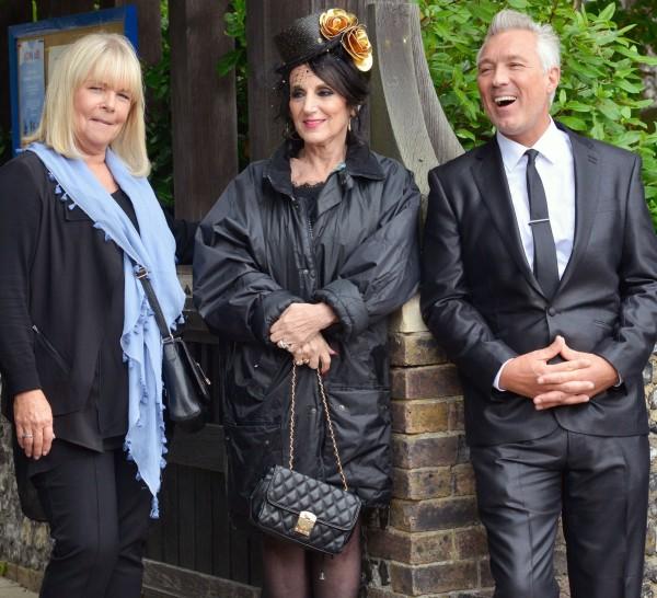 Martin Kemp with Lesley Joseph and Linda Robson