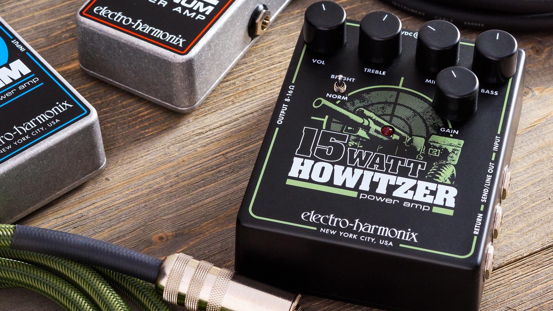 Electro-Harmonix unveils fully featured 15Watt Howitzer pedal amp | Guitar  World