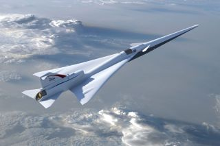 NASA Hires Lockheed Martin to Build Quiet Supersonic X-Plane