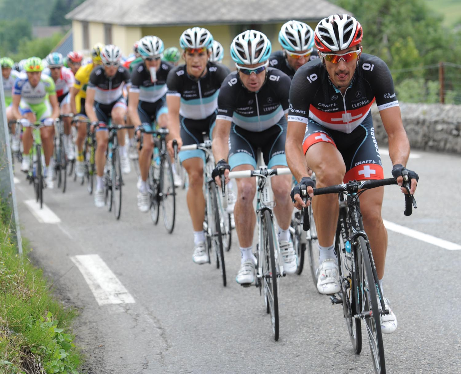 Fabian Cancellara, Tour de France 2011, stage 12