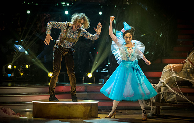 Strictly Come Dancing - HUGE audience watches Seann Walsh and Katya exit