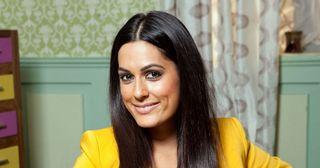 Amrit Maghera plays Neeta Kaur in Hollyoaks