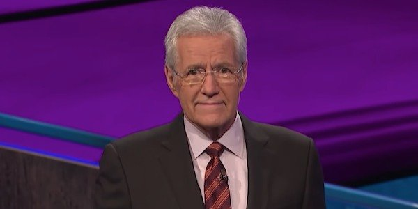 Alex Trebek on Jeopardy Screenshot