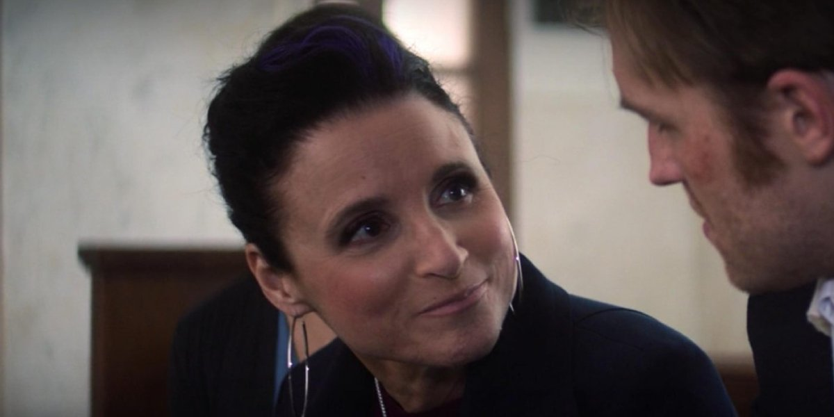 Julia Louis-Dreyfus as Valentina Allegra de Fontaine on The Falcon and the Winter Soldier