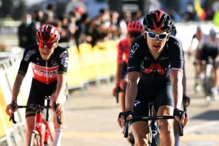 Geraint Thomas (Ineos Grenadiers) finished fourth on stage 3 at Volta a Catalunya