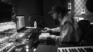 Madeon in the studio