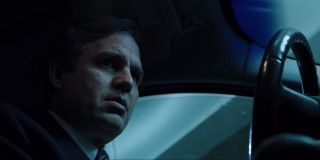Dark Waters Mark Ruffalo looks uneasy in the driver's seat