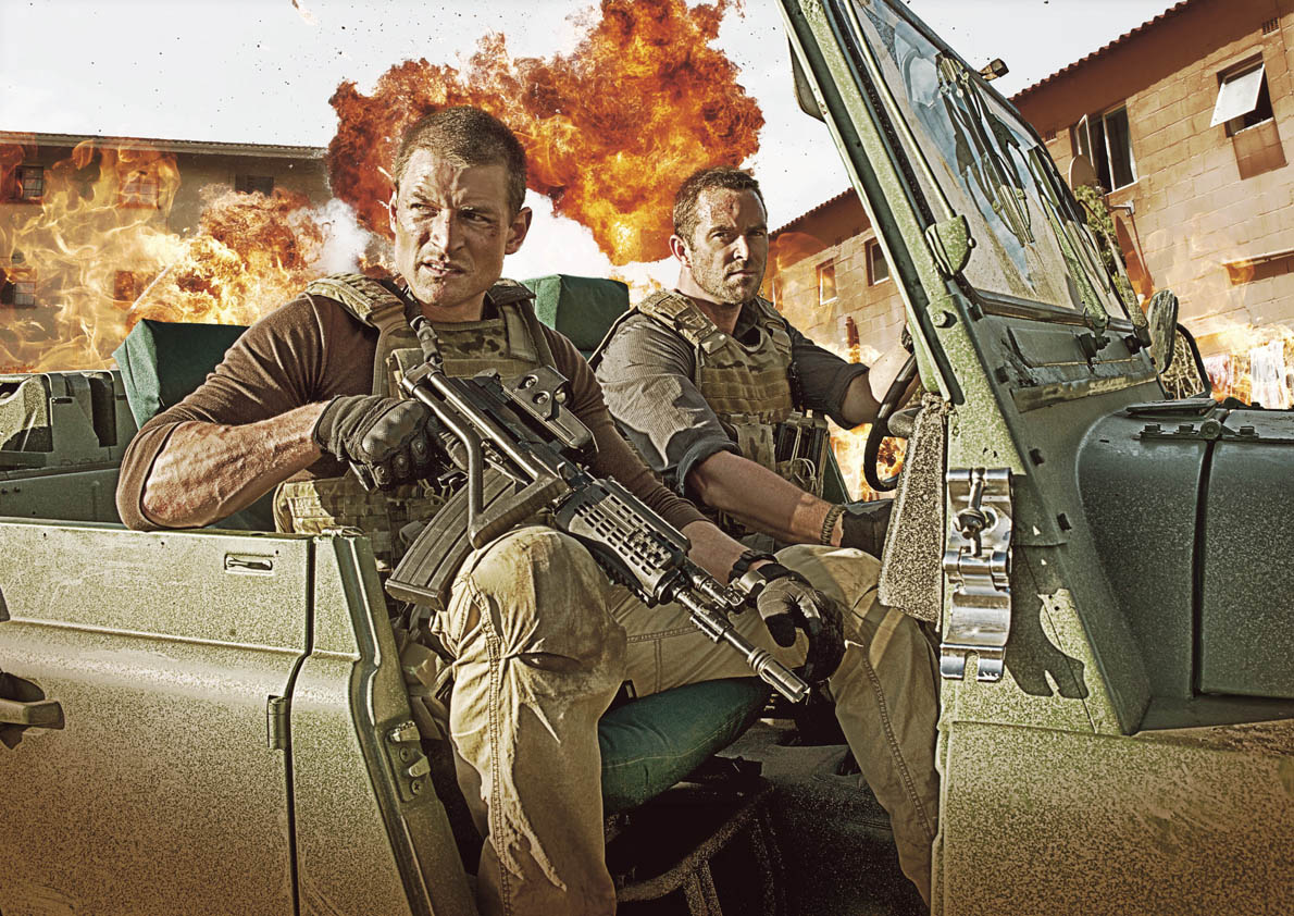 'Army people tell us how realistic Strike Back is'