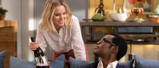 Kristin Bell and William Jackson Harper star in the NBC sitcom. Watch The Good Place finale online