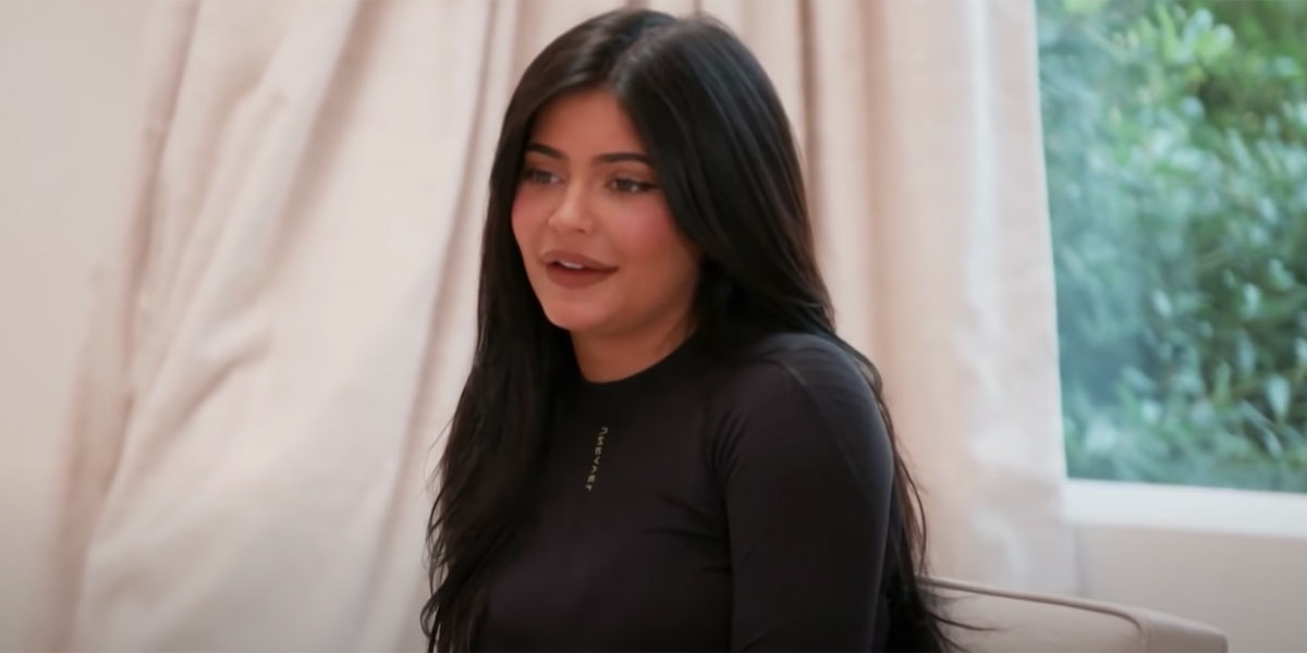 Kylie Jenner screenshot from Keeping up with the Kardashians