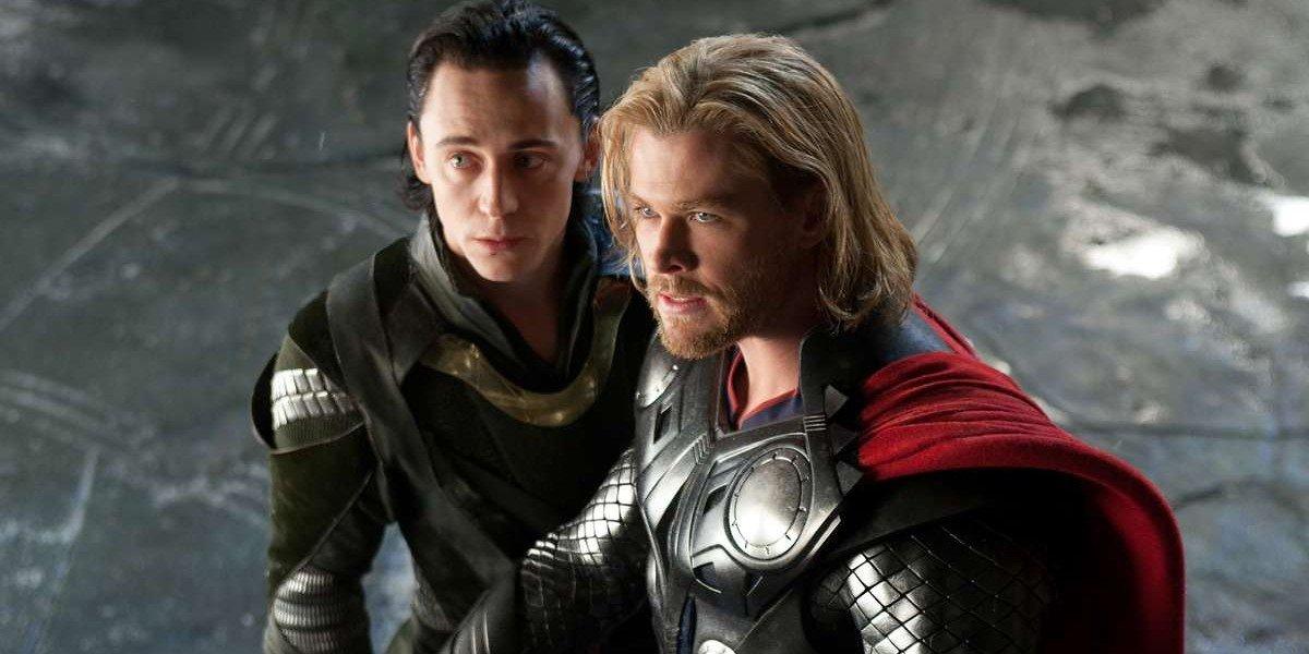 Loki and Thor looking wonderful