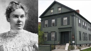 Lizzie Borden's home, site of a brutal double murder, is for sale. Borden, pictured here in 1889, was accused and acquitted of the axe murder of her father and stepmother.