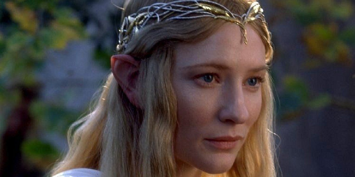 Cate Blanchett in The Lord of the Rings